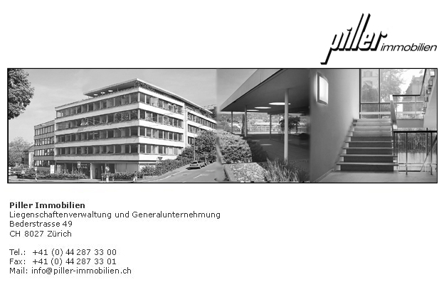 promo code f3fbd d0865 Piller Immobilien, Liegenschaftenverwaltung und ...